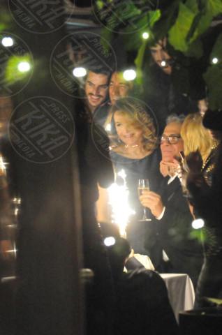 Carlo Pignatelli, Barbara D'Urso - Milano - 25-11-2013 - D'Urso-Massa: coppia fissa al party di Carlo Pignatelli
