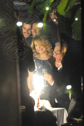 Barbara D'Urso - Milano - 25-11-2013 - D'Urso-Massa: coppia fissa al party di Carlo Pignatelli