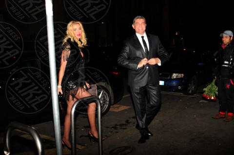 Giovanni Cottone, Valeria Marini - Milano - 25-11-2013 - D'Urso-Massa: coppia fissa al party di Carlo Pignatelli