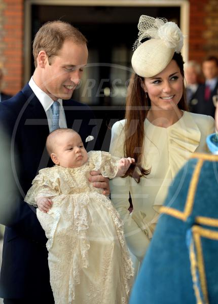 Principe George, Principe William, Kate Middleton - Londra - 31-10-2013 - Kate Middleton ancora incinta: adesso è ufficiale!