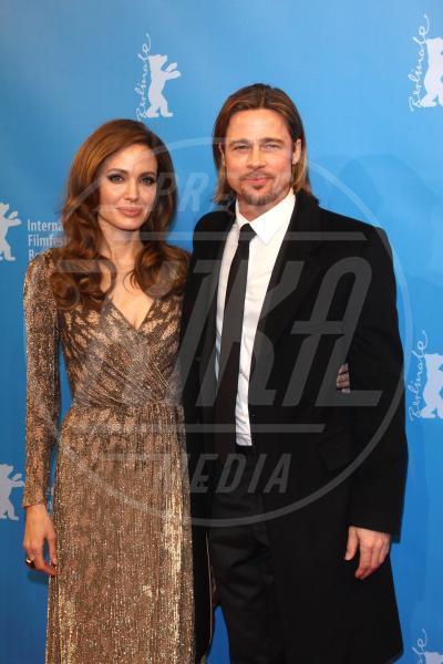 Angelina Jolie, Brad Pitt - Berlino - 11-02-2012 - Tanti auguri Brad Pitt: la star di Hollywood compie 50 anni
