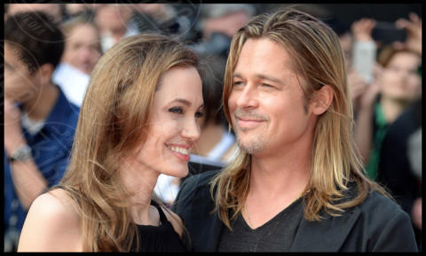 Angelina Jolie, Brad Pitt - Londra - 02-06-2013 - Tanti auguri Brad Pitt: la star di Hollywood compie 50 anni