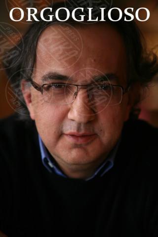 Sergio Marchionne - Milano - 02-02-2009 - Dominatori, indecisi e orgogliosi: ecco le rughe rivelatrici