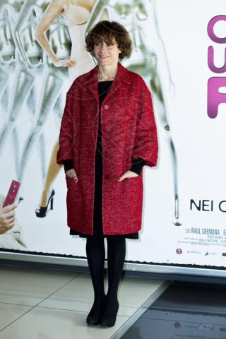 Sophie Chiarello - Roma - 04-03-2013 - Sarà un inverno caldo... con un cappotto rosso!