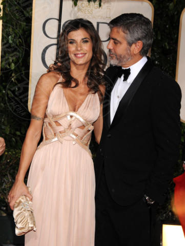Elisabetta Canalis, George Clooney - Los Angeles - 17-01-2010 - Tutti gli uomini di Elisabetta Canalis