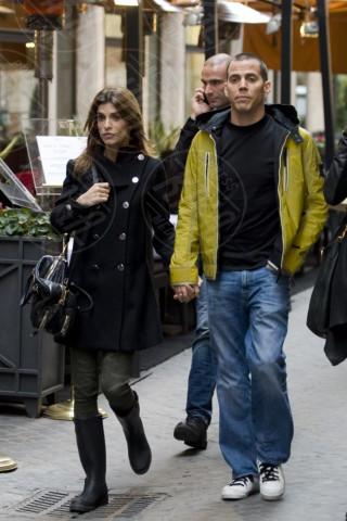 Elisabetta Canalis, Steve-O - Roma - 18-02-2012 - Tutti gli uomini di Elisabetta Canalis