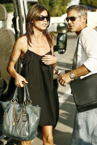 Elisabetta Canalis, George Clooney - Venezia - 07-09-2009 - Tutti gli uomini di Elisabetta Canalis