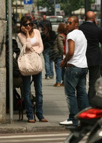 Reginaldo, Elisabetta Canalis - Milano - 28-04-2008 - Tutti gli uomini di Elisabetta Canalis