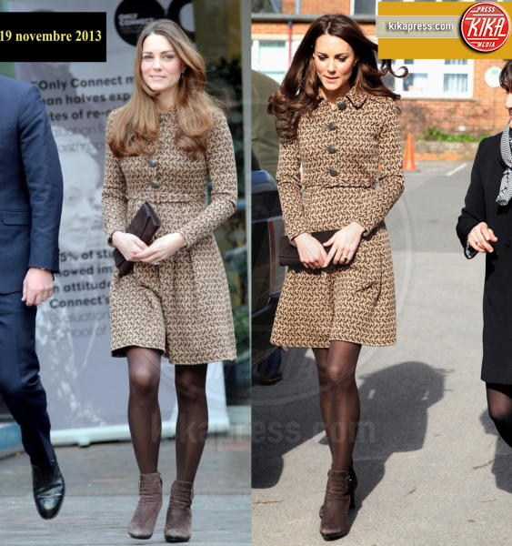Kate Middleton - 19-11-2013 - Kate Middleton, abito che vince non si cambia!