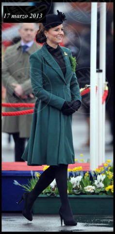 Kate Middleton - Londra - 17-03-2013 - Kate Middleton, abito che vince non si cambia!