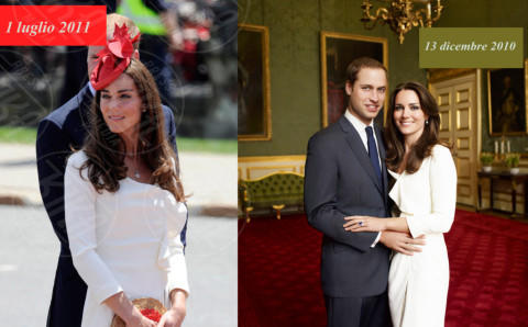 Principe William, Kate Middleton - 28-11-2013 - Kate Middleton è la signora in rosso… di nuovo!