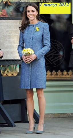 Kate Middleton - Londra - 01-03-2012 - Kate Middleton è la signora in rosso… di nuovo!