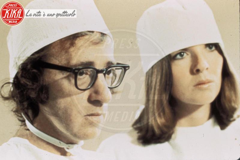 Woody Allen, Diane Keaton - 01-01-1973 - Diane Keaton shock: