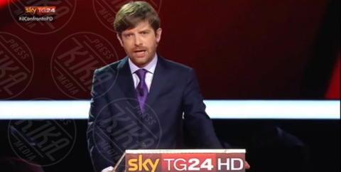 Pippo Civati - Milano - 29-11-2013 - I magnifici tre del Pd a confronto tv per la Segreteria