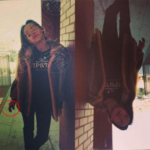 Aurora Ramazzotti - Milano - 29-11-2013 - Dillo con un tweet: scandalo in casa Hunziker, Aurora fuma!