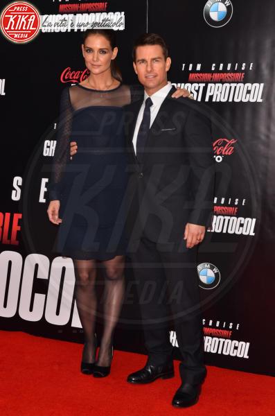Katie Holmes, Tom Cruise - New York - 19-12-2011 - Amori in controtendenza: quando lui è più basso di lei