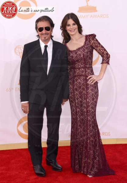 Lucila Sola, Al Pacino - Los Angeles - 22-09-2013 - Amori in controtendenza: quando lui è più basso di lei