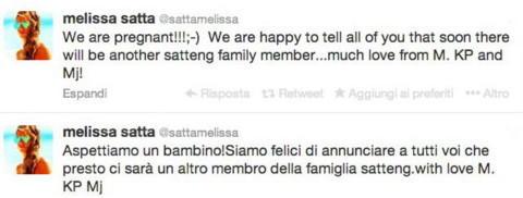"""Kevin-Prince Boateng, Melissa Satta - Los Angeles - 02-12-2013 - Melissa Satta: """"Aspettiamo un bambino, siamo felici"""""""