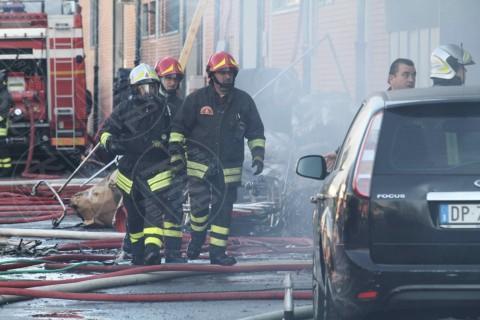 Incendio Macrolotto - Prato - 01-12-2013 - Macrolotto di Prato: sono sette le vittime dell'incendio