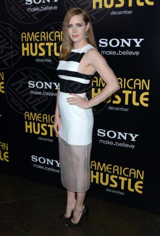 Amy Adams - West Hollywood - 03-12-2013 - Bianco e nero: un classico sul tappeto rosso!