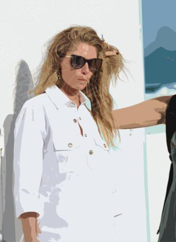 Jessica Hart - Miami - 07-12-2013 - Jessica Hart: un angelo sulla spiaggia di Miami