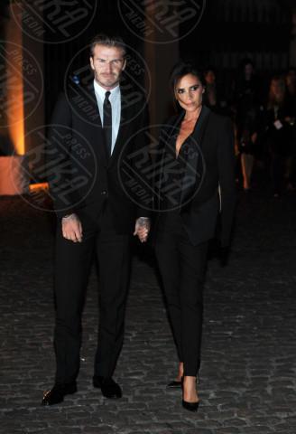 David Beckham, Victoria Beckham - Londra - 16-09-2013 - I Beckham traslocano a casa di Gianni Versace