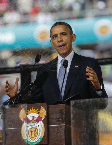 Barack Obama - Johannesburg - 10-12-2013 - Barack Obama punta dritto sull'aumento del salario minimo