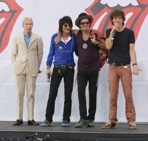 Keith Richards, Ronnie Wood, Mick Jagger - New York - 12-03-2007 - Ronnie Wood e la lotta contro il cancro:
