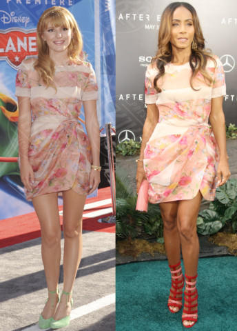 Bella Thorne, Jada Pinkett Smith - 12-12-2013 - Bella Thorne e Jada Pinkett Smith: chi lo indossa meglio?