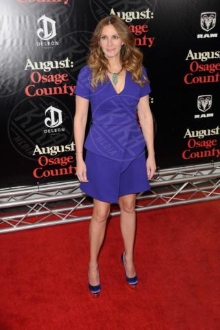 Julia Roberts - New York - 12-12-2013 - Accendi l'autunno con il blu elettrico!