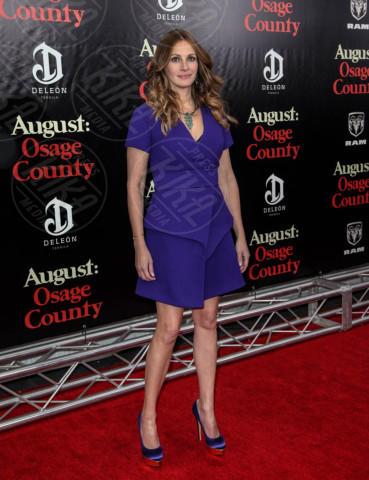 Julia Roberts - New York - 12-12-2013 - Per il 2014, le celebrity scelgono il colore viola
