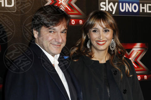 Fabio Caressa, Benedetta Parodi - Milano - 12-12-2013 - Benedetta Parodi e Fabio Caressa,