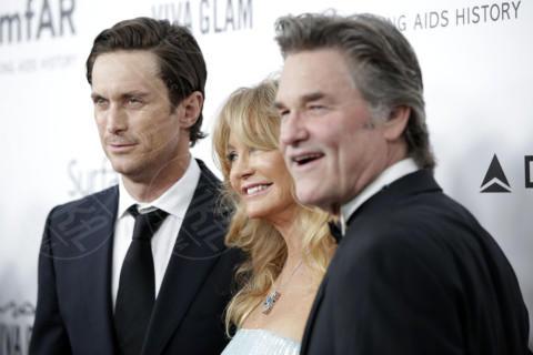 Oliver Hudson, Kurt Russell, Goldie Hawn - Los Angeles - 13-12-2013 - Oliver Hudson: 'Mia sorella con Brad Pitt? Un disastro'