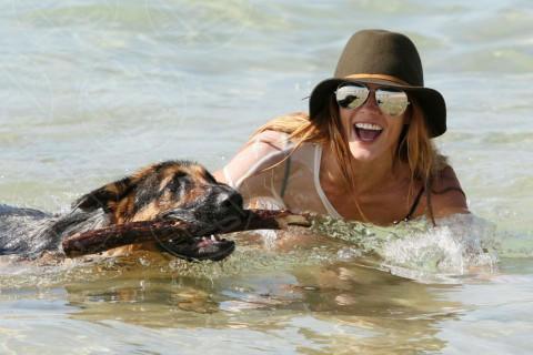 Sharni Vinson - Sydney - 13-12-2013 - Bizzarrie da star: Barbra Streisand clona il suo cane
