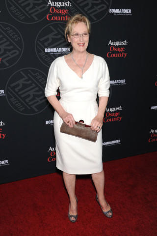 Meryl Streep - Los Angeles - 16-12-2013 - Meryl Streep, pronta per il tappeto rosso degli Oscar