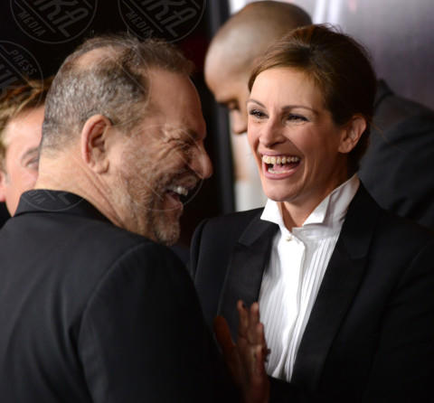 Harvey Weinstein, Julia Roberts - Los Angeles - 16-12-2013 - Scattano le manette per Harvey Weinstein: è la resa dei conti