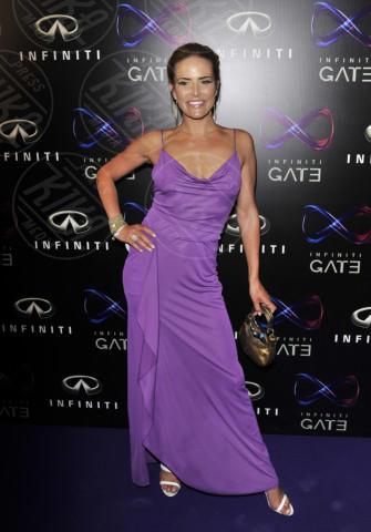 Sophie Anderton - Londra - 11-07-2013 - Per il 2014, le celebrity scelgono il colore viola