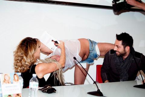 Gianluca Liguori, Twerkatore, Barbara D'Urso - Milano - 16-12-2013 - Con Barbara D'Urso, qualsiasi menzogna Ti Si Legge in Faccia