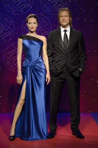 Angelina Jolie, Brad Pitt - Londra - 17-12-2013 - Quando la celebrity resta… di cera!