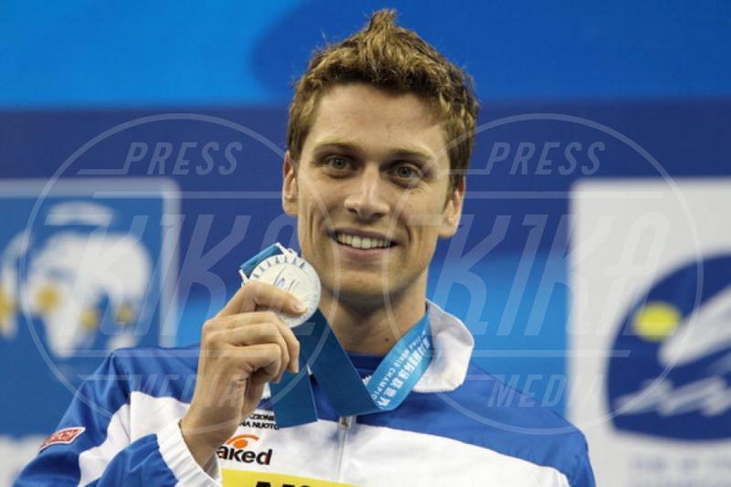 Luca Dotto - 18-12-2013 - Il nuotatore Luca Dotto è il nuovo volto di Emporio Armani