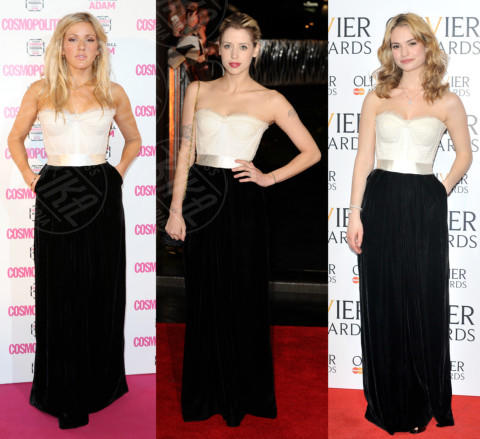 Lily James, Ellie Goulding, Peaches Geldof - 20-12-2013 - Ellie Goulding e Peaches Geldof: chi lo indossa meglio?