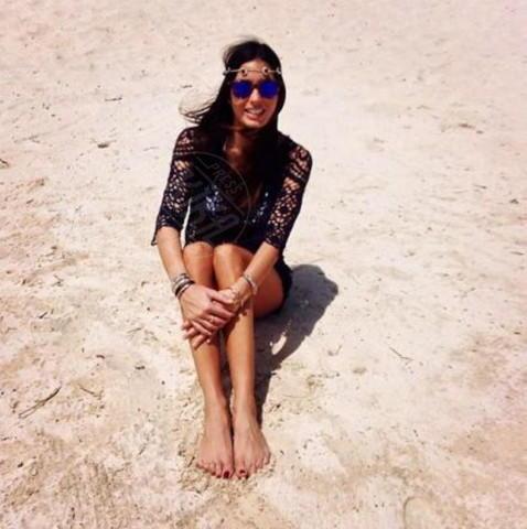 Elisabetta Gregoraci - Milano - 23-12-2013 - Dillo con un tweet: ritorno in patria per Belen Rodriguez