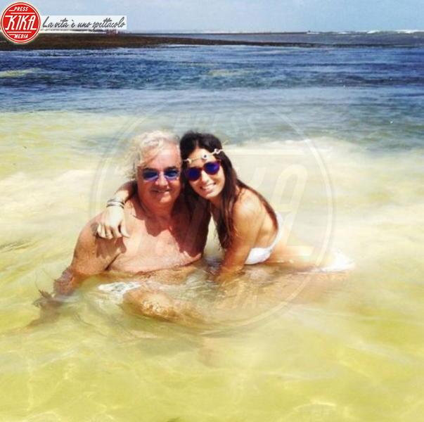 Elisabetta Gregoraci, Flavio Briatore - Milano - 23-12-2013 - Dillo con un tweet: ritorno in patria per Belen Rodriguez