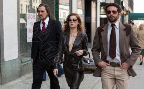 Christian Bale, Amy Adams, Bradley Cooper - Milano - 23-12-2013 - American Hustle, un'abile truffa per aggiudicarsi l'Oscar
