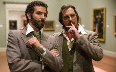 Christian Bale, Bradley Cooper - Milano - 23-12-2013 - American Hustle, un'abile truffa per aggiudicarsi l'Oscar