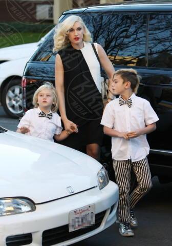 Zuma Rossdale, Kingston Rossdale, Gwen Stefani - Los Angeles - 25-12-2013 - Da Noah Green a Shiloh Nouvel: i bambini no gender dello showbiz