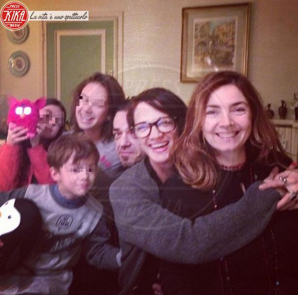 Anna Lou Castoldi, Morgan, Asia Argento - Los Angeles - 30-12-2013 - Dillo con un tweet: un fine 2013 da papà per Morgan