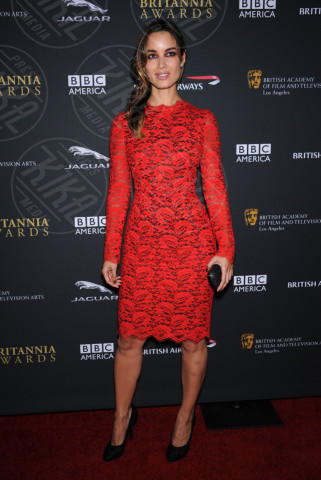 Berenice Marlohe - Beverly Hills - 09-11-2013 - Camila Alves e Berenice Marlohe: chi lo indossa meglio?