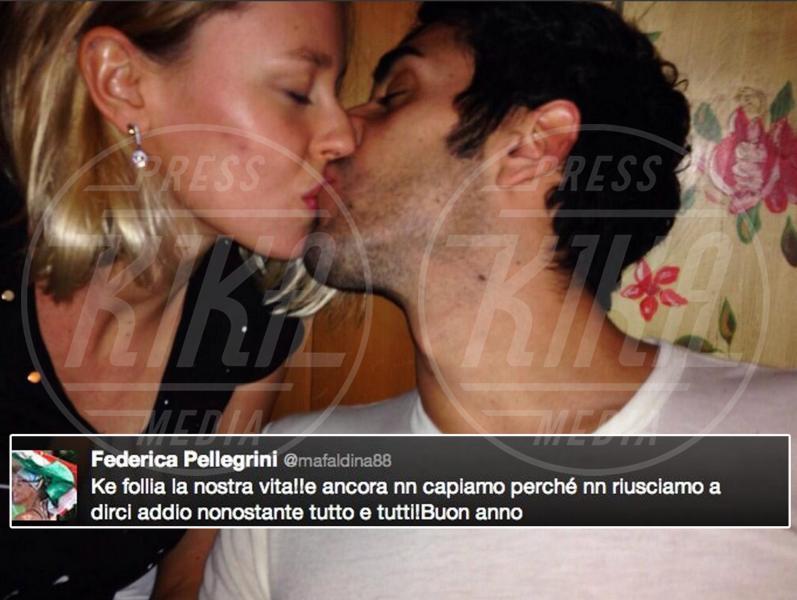 Federica Pellegrini, Filippo Magnini - Los Angeles - 02-01-2014 - Dillo con un tweet: Pellegrini-Magnini ancora insieme