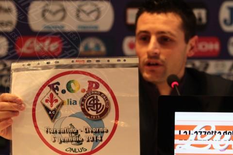 Manuel Pasqual - Firenze - 03-01-2014 - Manuel Pasqual e Andrea Luci in campo per la F.O.P.